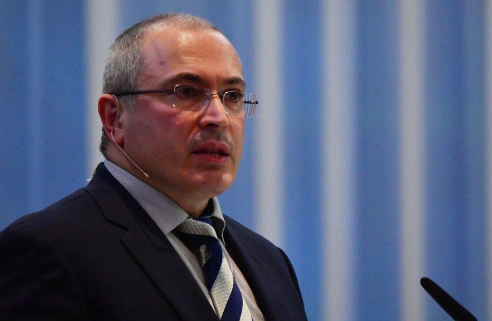 Hodorkovski asutatud liikumise Otkrõtaja Rossija veebileht blokeeriti Venemaal