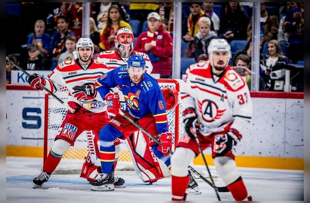 Jokerit vs Avtomobilist