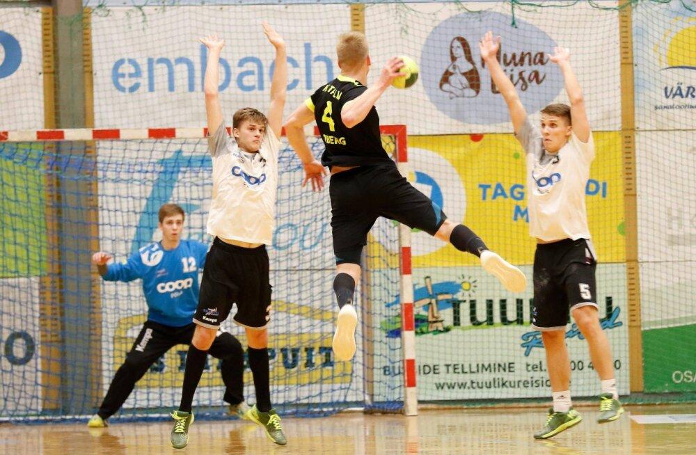 HC Tallinna Robin Oberg (viskel) saatis täna võidumängus Põlva Coopi võrku üheksa palli.