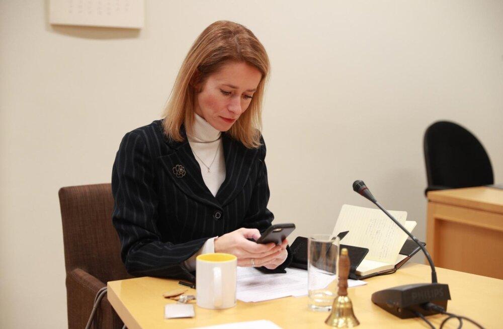 Kaja Kallas erakonnakaaslastele: Ossinovski ettepanek näitab, et valitsust enam ei eksisteeri! Sotsid umbusaldavad peaminister Ratast