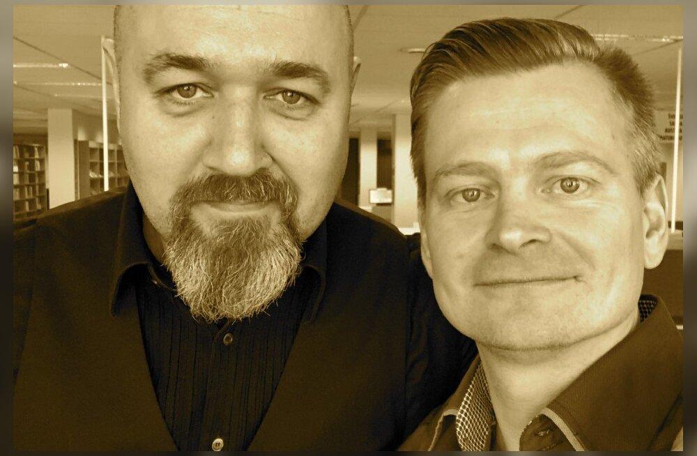 Georg Merilo (vasakult)  ja Veiko Valkiainen.