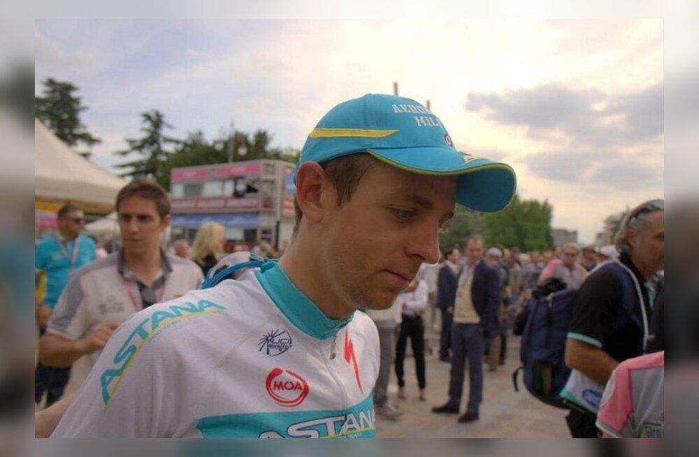 Astana profitiimi rattur Tanel Kangert