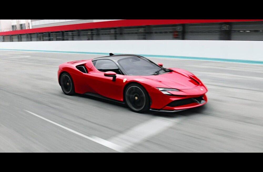 Ferrari SF90 Stradale: 1000 hobujõuga auto, mida võid pistikust laadida