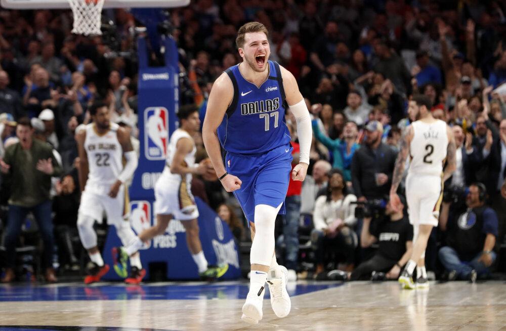 NBA tšempion kiitis Luka Doncicit: ta on NBA kõige andekam mängija