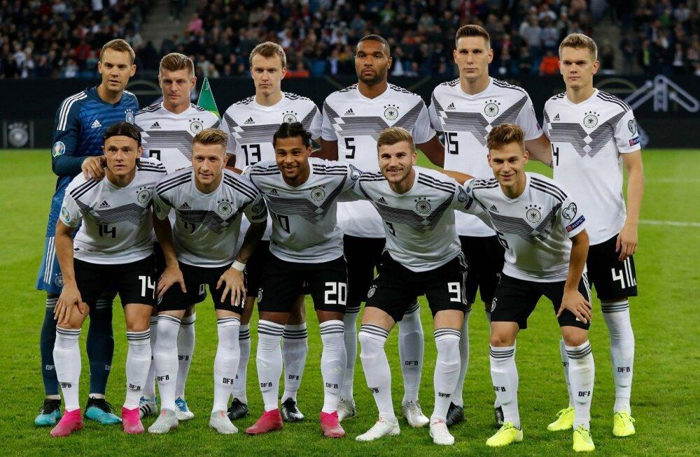 Saksamaa jalgpallikoondis.