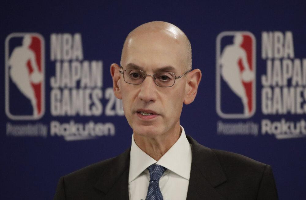 Hiina ähvardab NBA tegevjuhti kättemaksuga