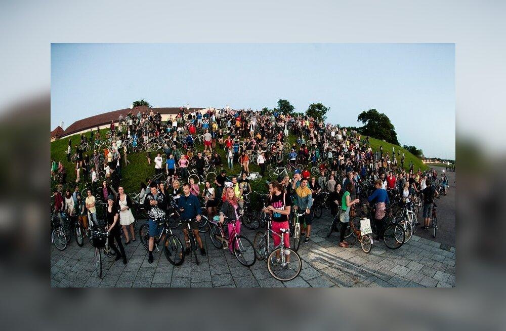 Tour d'ÖÖ grupisõidule kogunes 760 velonauti