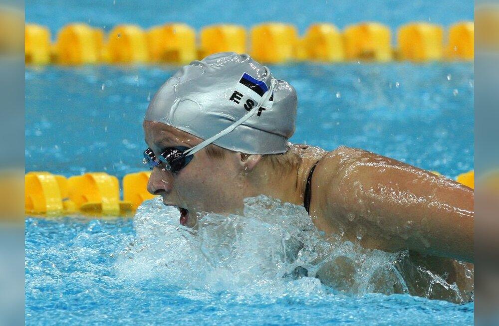 Triin Aljand pääses ujumise MM-il poolfinaali