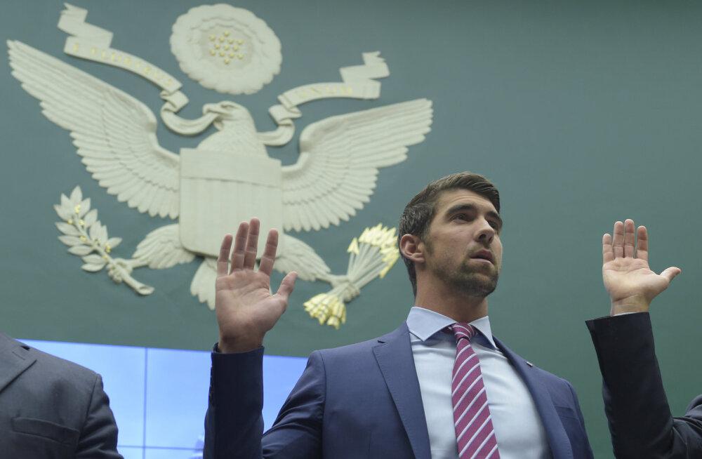 Michael Phelps: ma pole kunagi ujunud kõrvuti puhaste sportlastega