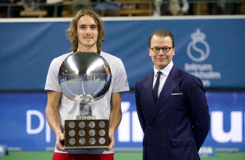 Raisma endine paarismängupartner Tsitsipas krooniti Stockholmi turniiri võitjaks