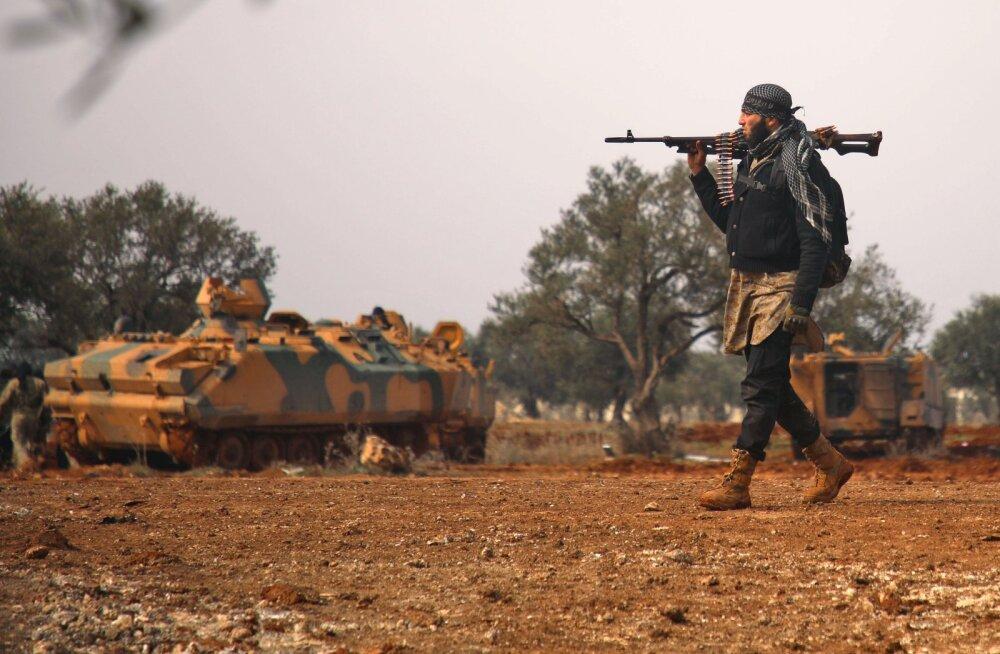 Türgi nõudis venelastelt sõjategevuse peatamist Süürias