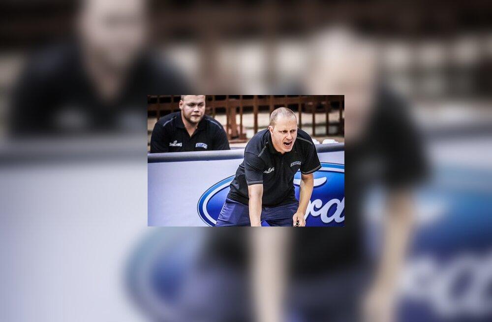 Eesti U16 koondise peatreener Marko Parkonen