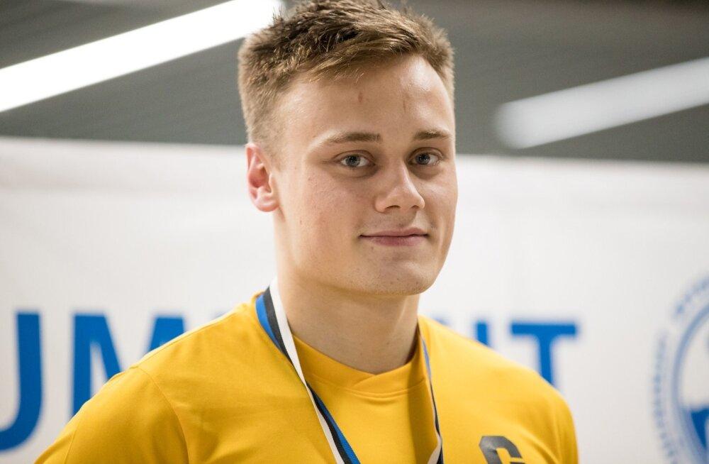 Daniel Zaitsev pääses ujumise MK-etapil finaali