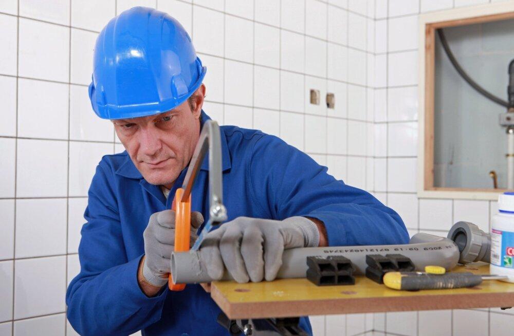Üle 45-aastane töötaja.