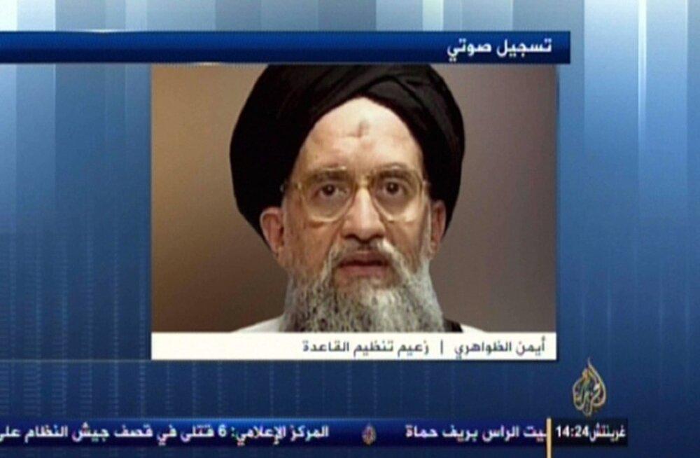Al-Qaida juht kutsus oma järgijaid ühinema võitluseks lääne ja Venemaa vastu