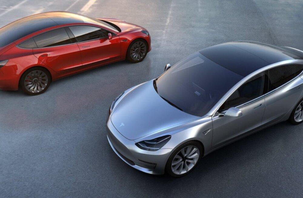 Kui palju hittauto Tesla Model 3 ja elektrisõidukid üldse tegelikult keskkonda säästavad?