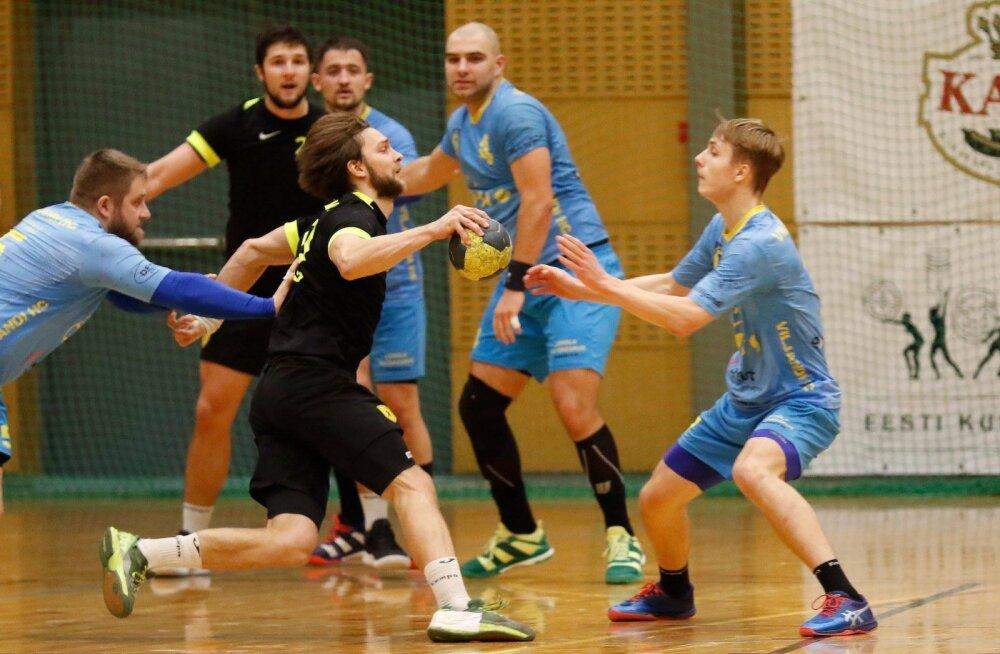 Serviti finaalivastaseks karikavõistlustel on HC Tallinn