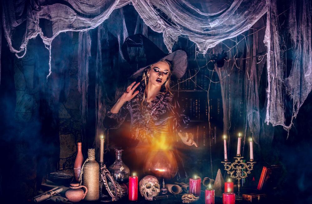 Täna on halloween ehk kõikide pühakute öö   Ennusta tulevikku ja vaata, kuidas sul armastuses õnne on!
