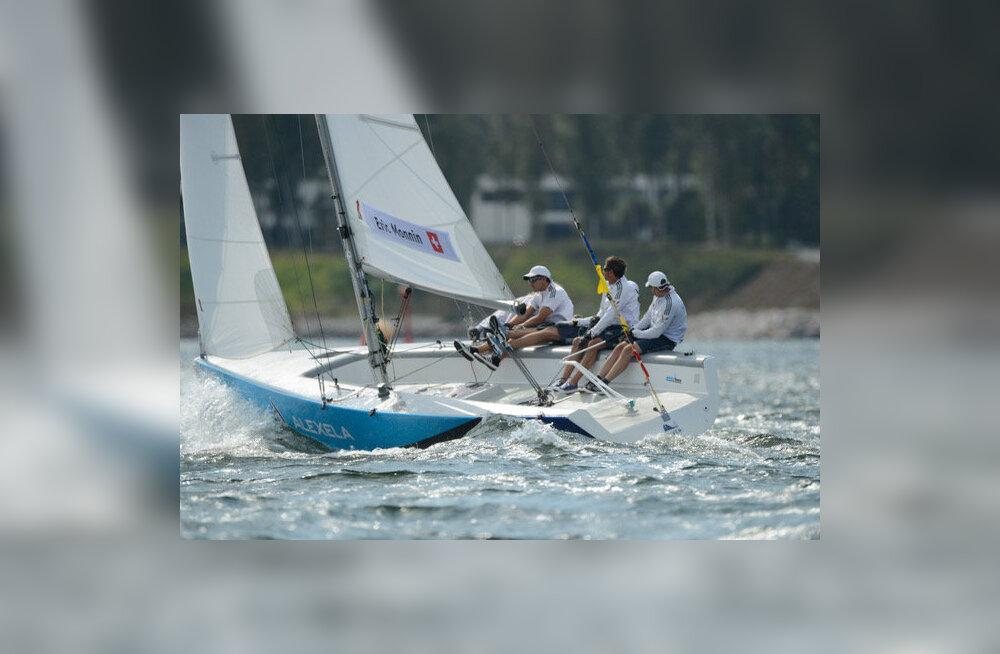 Purjetamise match race Euroopa meistrivõistlustel selgusid poolfinalistid