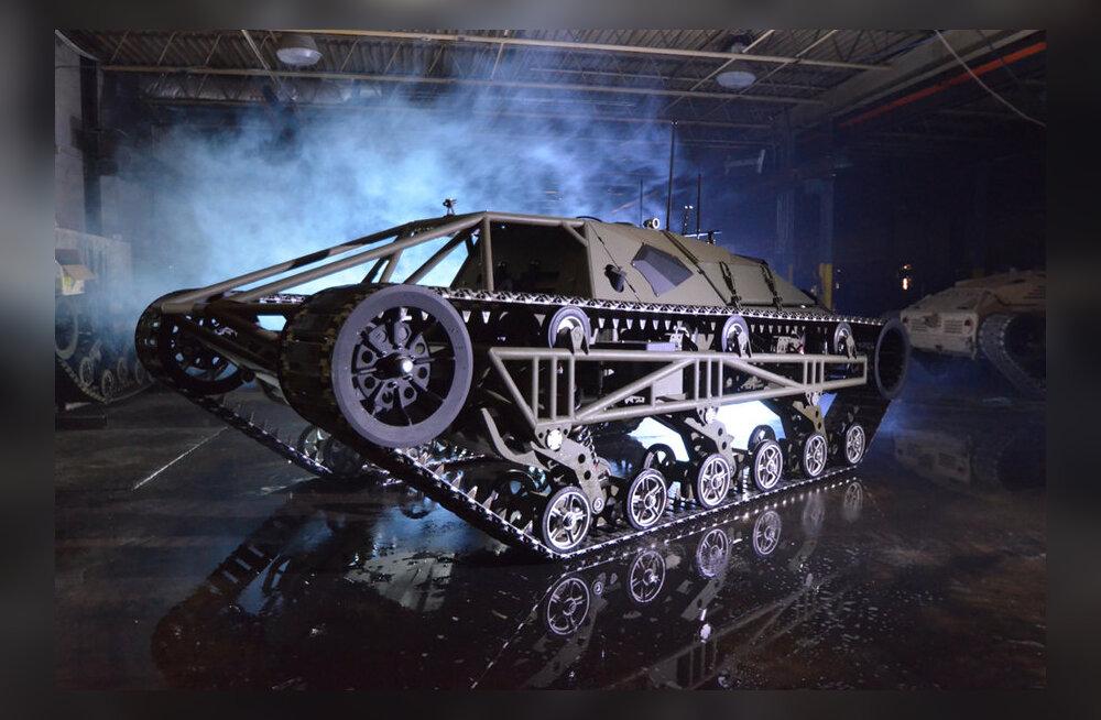 KIIRE JA LENNUKAS: Maailma kiireim roomiksõiduk Ripsaw