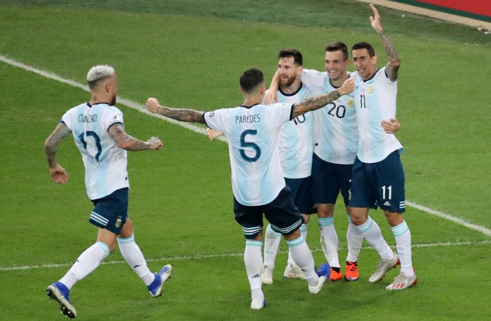 Copa America poolfinaalis saab näha klassikalist vastasseisu. Kas Messi jätab märgi maha?