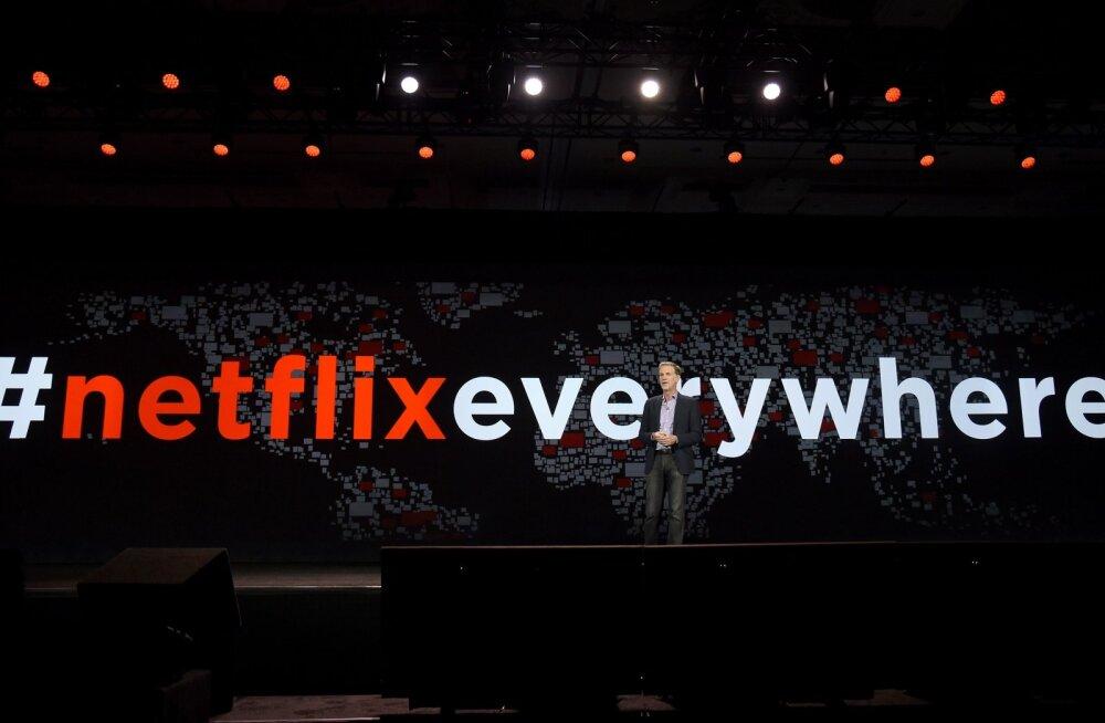 Netflixi teenus toimib nüüd ka Eestis, kuid kummaliste territoriaalsete piirangutega