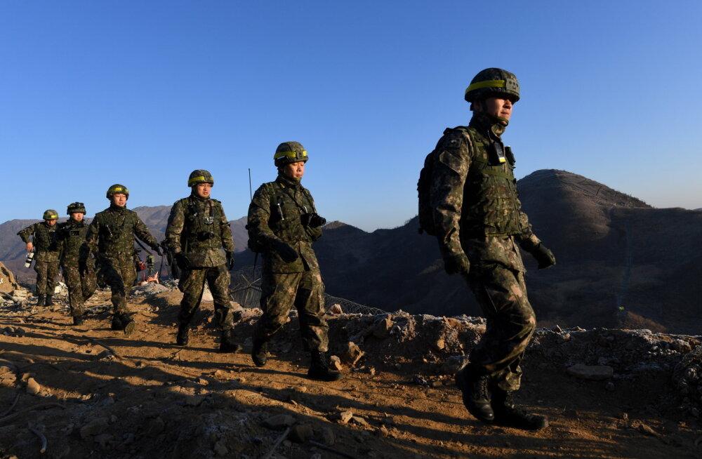 Põhja-Korea avas diktaator Kimi väljailmumise järel Lõuna-Korea suunas tule