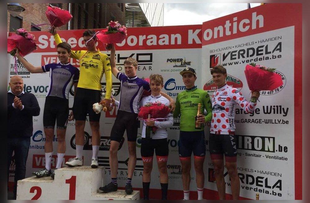 Gleb Karpenko võitis Belgias velotuuri