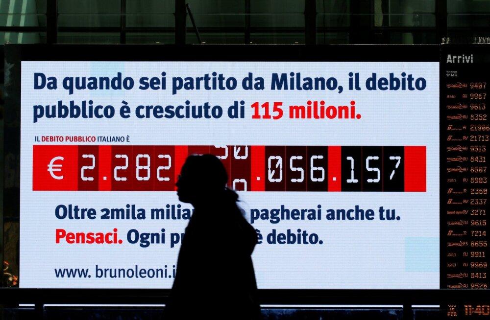 Itaalia liigub Euroopa Komisjoniga defitsiidi pärast kokkupõrkekursil