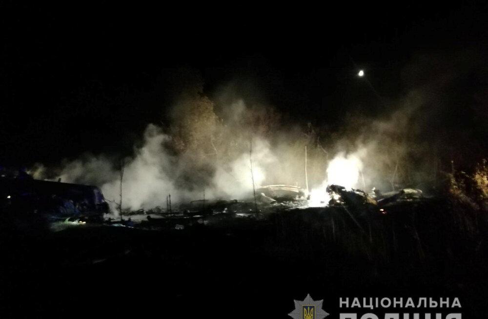 VIDEO   Ukrainas hävis maandumisel sõjaväe lennuk, hukkunuid võib olla enam kui 10