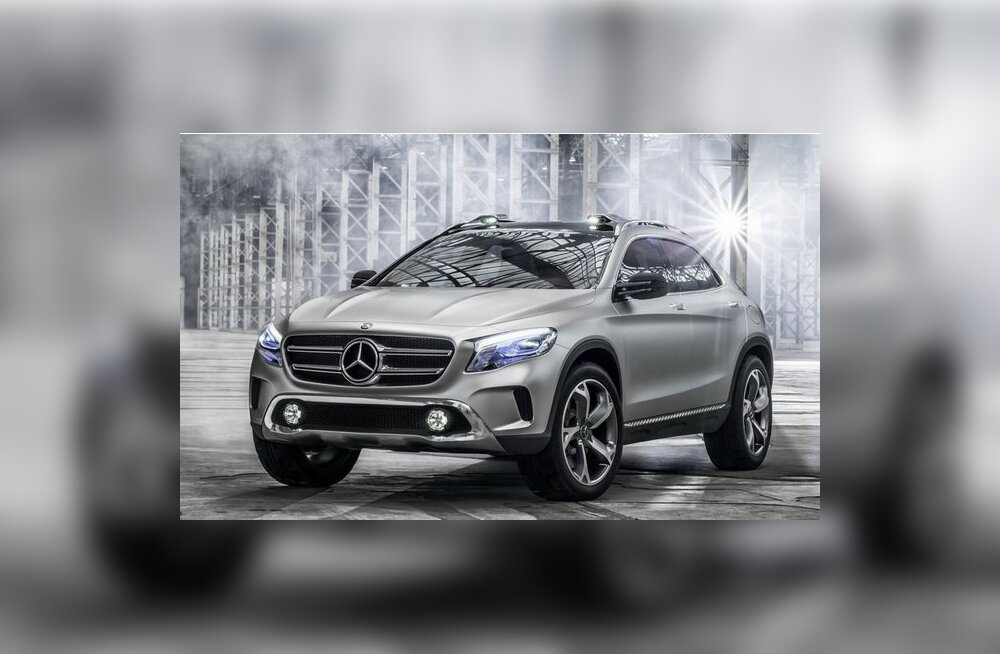 Esimesed fotod Mercedes-Benzi ideeautost GLA