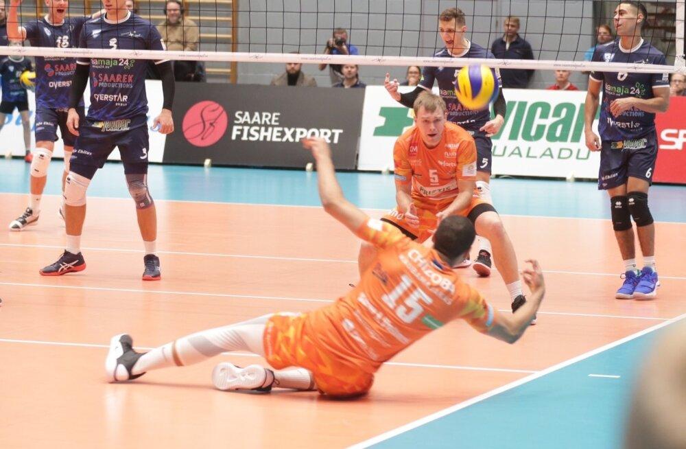 Saaremaa võrkpalliklubi vs Pärnu Võrkpalliklubi