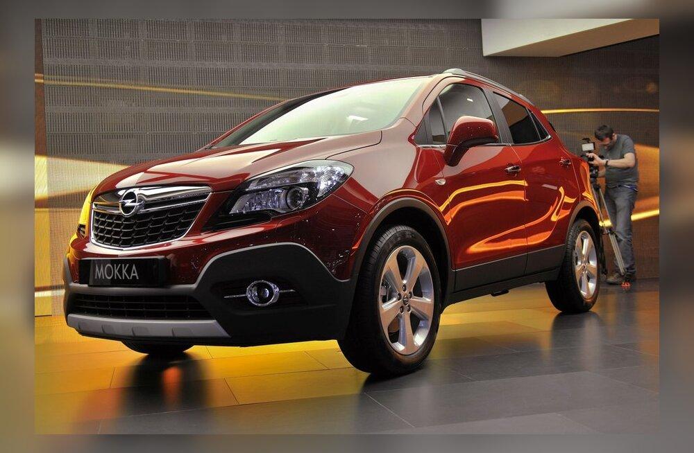 """Opel Mokka: uhiuus """"meepüss"""" General Motorsilt"""