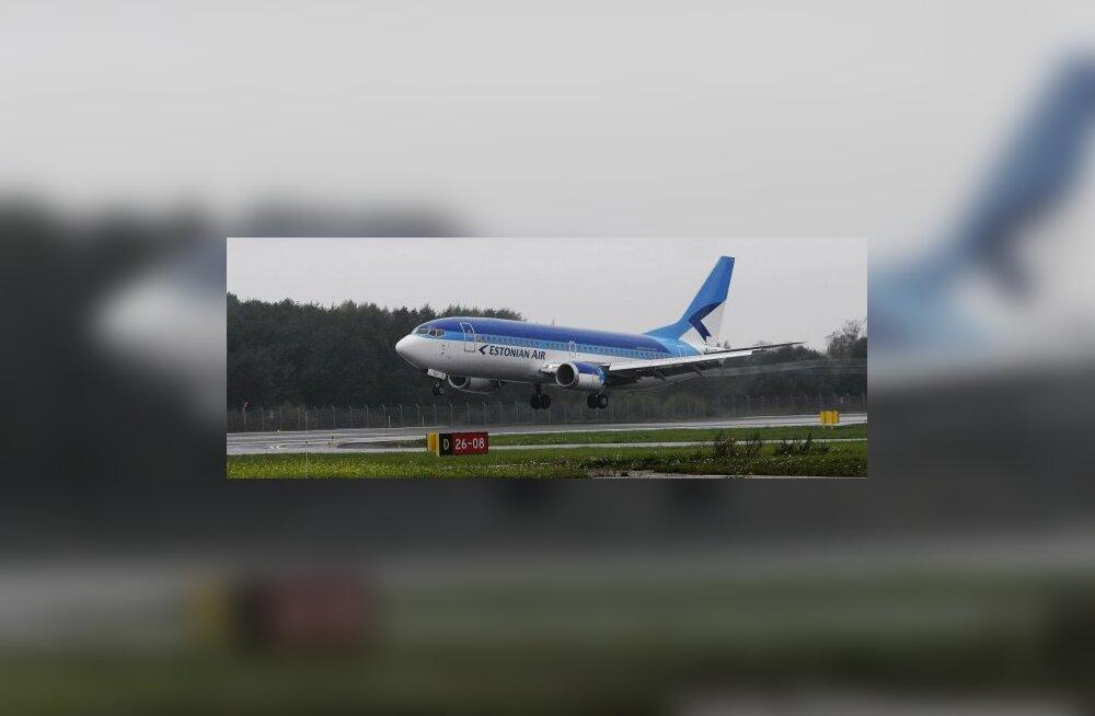 Estonian Airi 66 lendu katkise kütusepaagiga