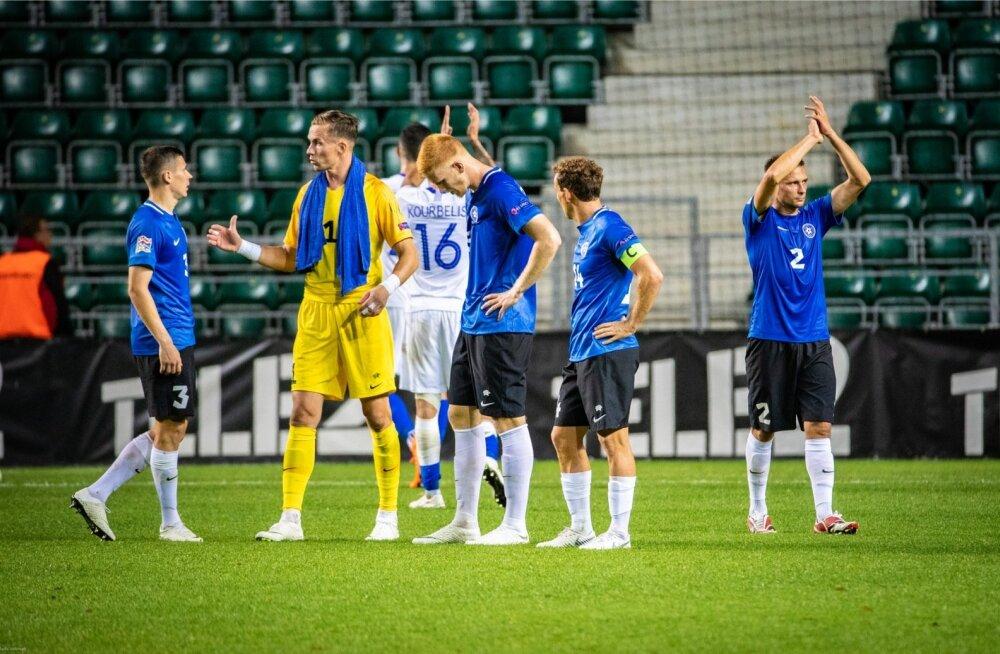 Eesti - Kreeka jalgpall