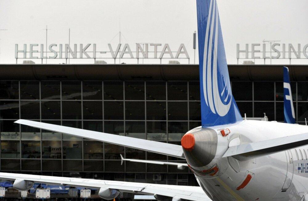 Helsingi-Vantaa lennuväljal peeti kinni inimsmugeldaja