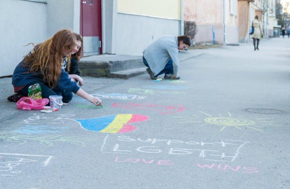 Молодежь ЛГБТ чувствует себя в школах Эстонии небезопасно. Новый проект призван это изменить