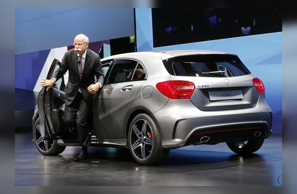 Eesti aasta auto 2013 - Mercedes-Benz A-klass