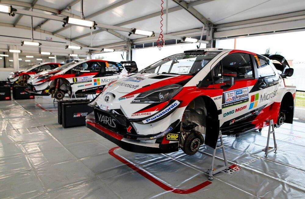 Toyota ralliautode hooldus toimub nüüdsest Eestis.