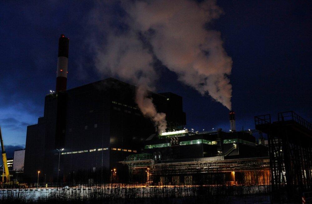 Auvere elektrijaam 6.01.2014