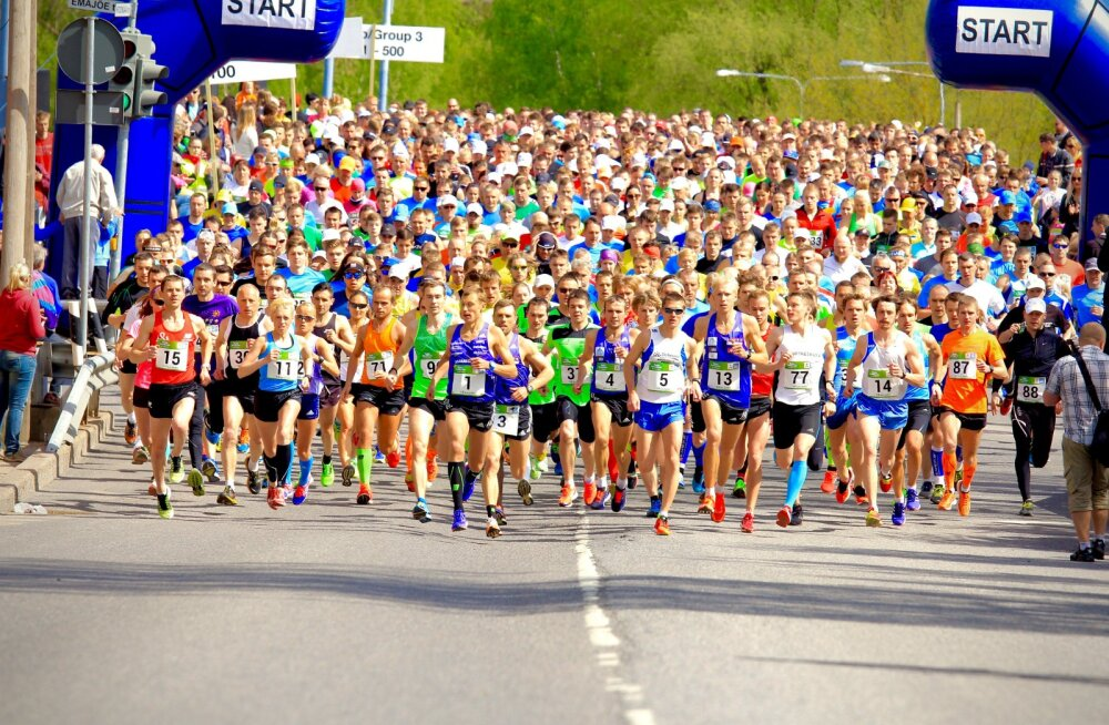 Eesti suurim jooksusari algab sel laupäeval Tartu Kevadjooksuga