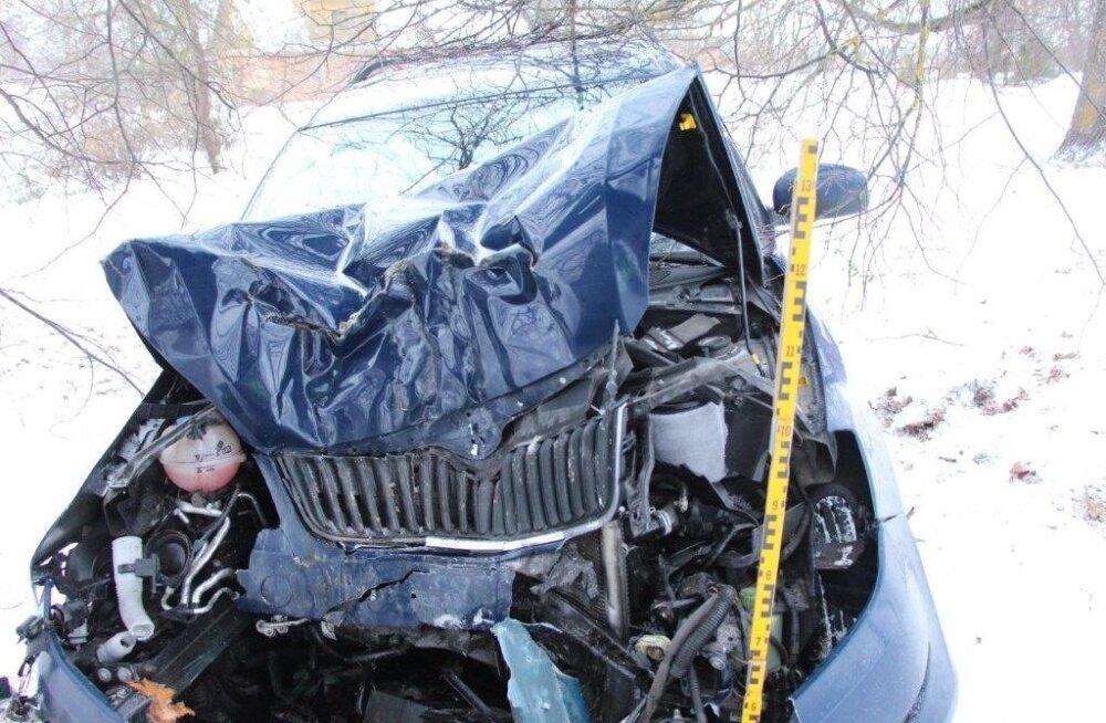 Liiklusõnnetus Tartu vallas