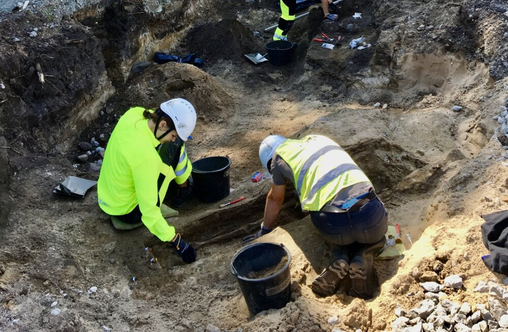 INTERVJUU ja FOTOD | Arheoloogid avastasid äsja Kalamajas kaheksa keskaegset matust