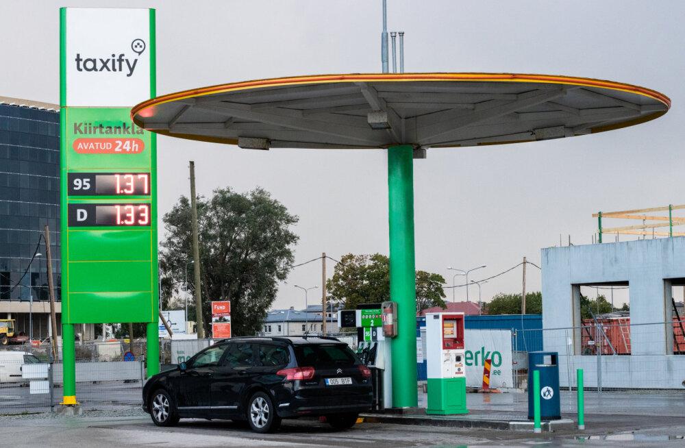 Taxify nime alt müüakse nüüd kütust