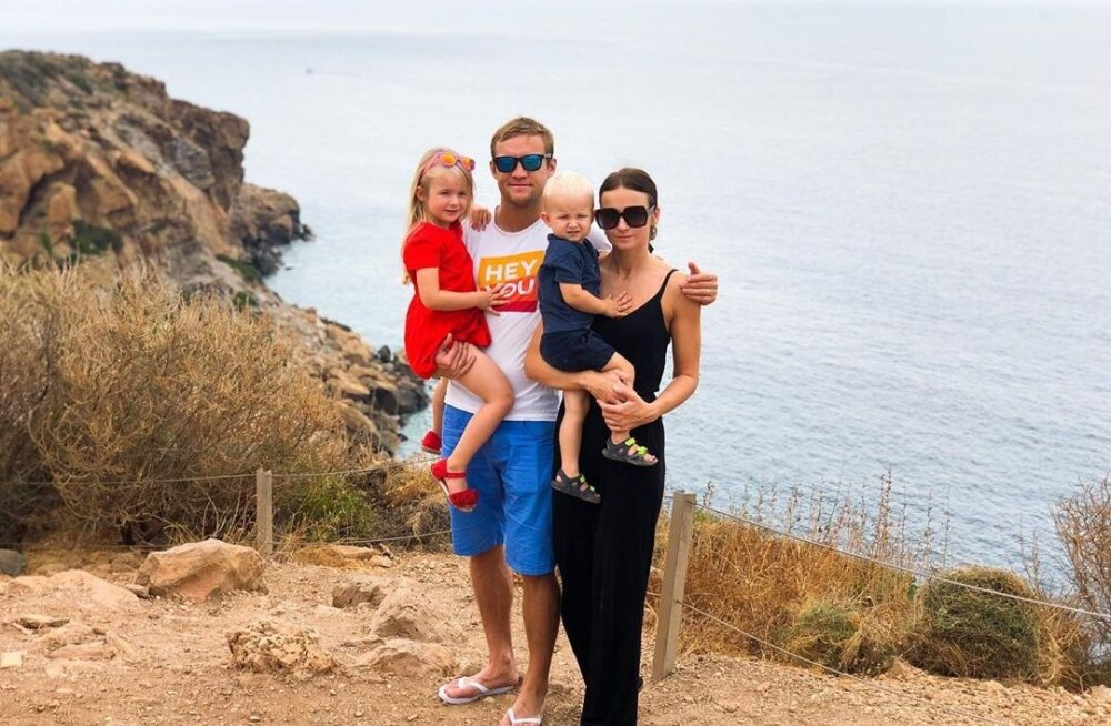 FOTOD | Martin Järveoja peesitab MM-sarja lõpusirge eel perega päikese all