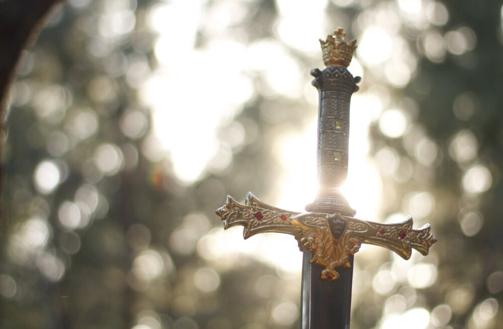 Мужчина пошел за грибами, а нашел меч и топор бронзового века