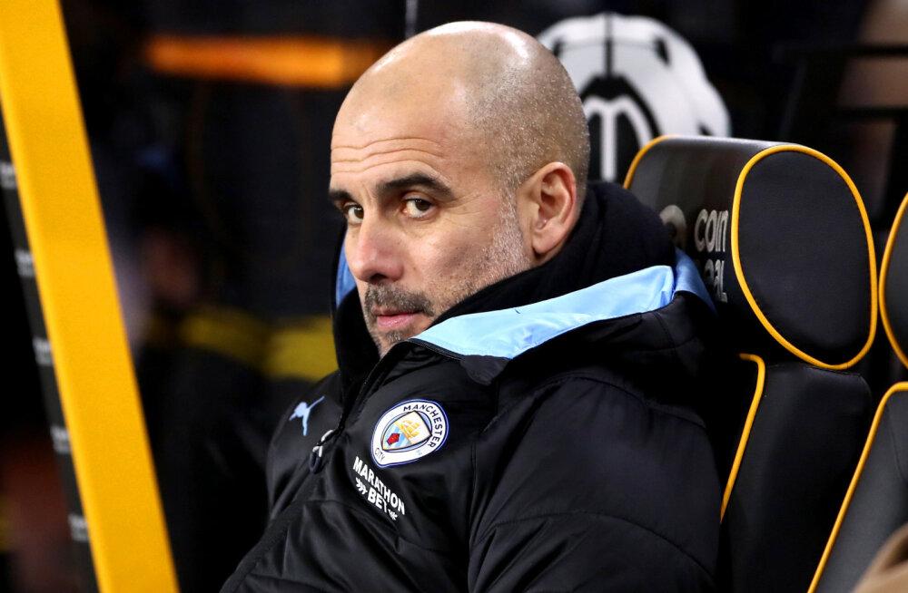 Pep Guardiola valusast kaotusest: vahe on nüüd Liverpooliga liiga suur
