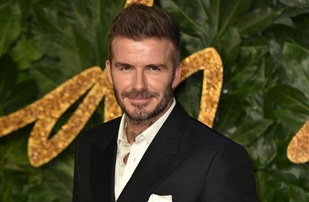 Beckham reklaamis tasuta eesti sauna! Loe, kuidas see juhtus