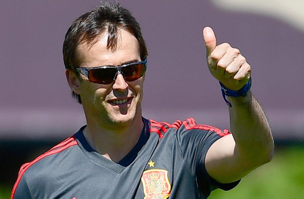 Millised olid vallandatud Hispaania peatreeneri viimased sõnad meeskonnale?
