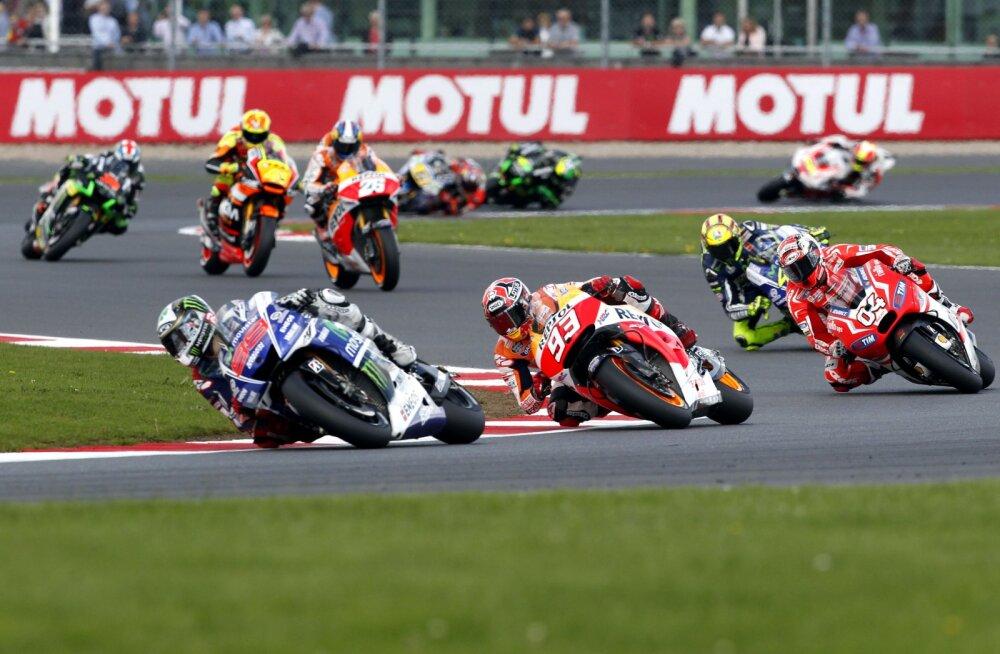 MotoGP Silverstone`i ringrajal